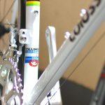ロードバイクのオーバーホール コロンバス・ZONAフレームを使用「colossi cycling」