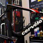 Cervélo(サーヴェロ)のTTバイク、「P2」のオーバーホール、メンテナンス