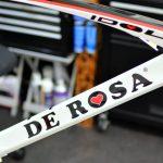 DE ROSA(デローザ)IDOL(アイドル)のガラスコーティング。