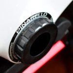 ピナレロのフルカーボンフレームにスギノ スーパーセラミックBBを装着