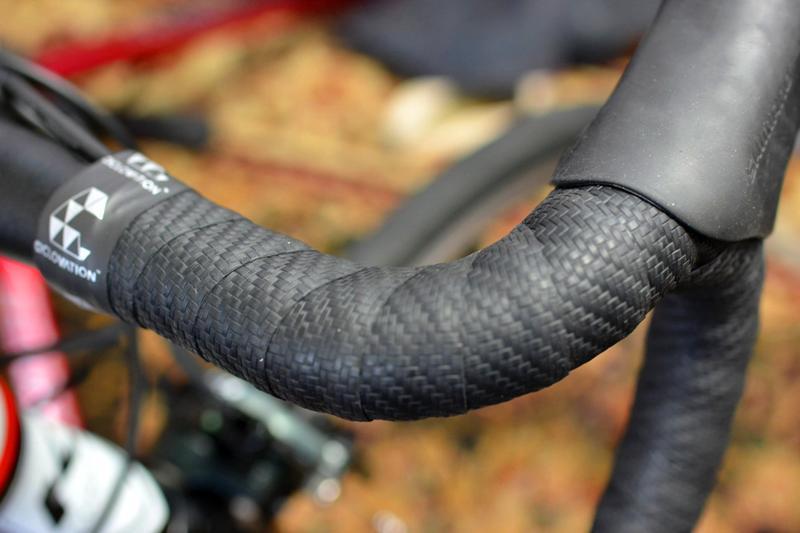Ciclovation 3D Carbon Touch Road Handlebar Tape Black Carbon Bike