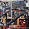 CANYON AEROAD CF SLX Di2のオーバーホール・フルメンテナンス